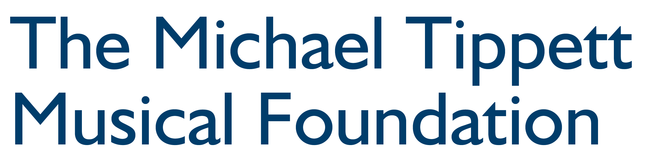 The Michael Tippett Musical Foundation
